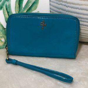 Cole Haan Patent Leather Wristlet